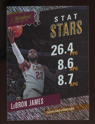 2017 Panini Prestige Stat Stars Rain #1 LeBron James