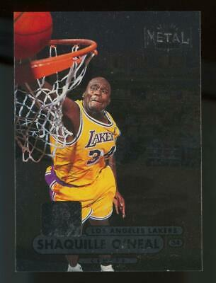 1998 Skybox Metal Universe #1 Shaquille O'Neal
