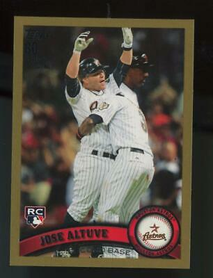 2011 Topps Update Gold #US132 Jose Altuve /2011 RC Rookie