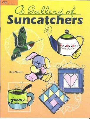 A Gallery of Suncatchers Stained Glass Pattern Book Karla Weaver