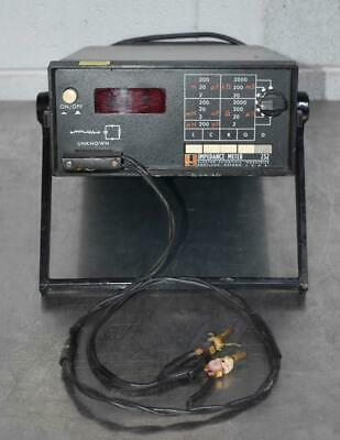 Esi 252 Impedance Meter W Cable Nice