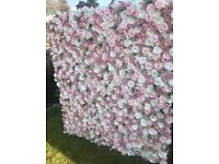 Flower Wall for Hire Birmingham/Solihull