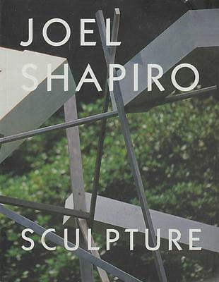 Joel Shapiro Sculpture Exhibition Book 2000 Catalogue Friedman Essay Bio Crit