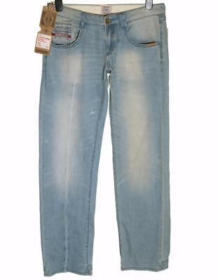 Nuovo con Etichetta Donna Superdry Cerniera Jeans