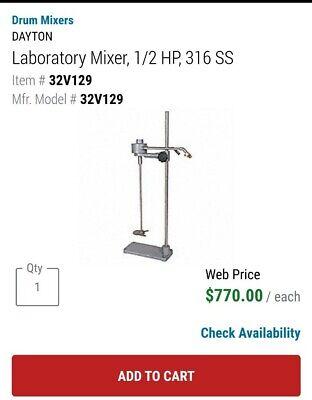 Laboratory Mixer W Stand
