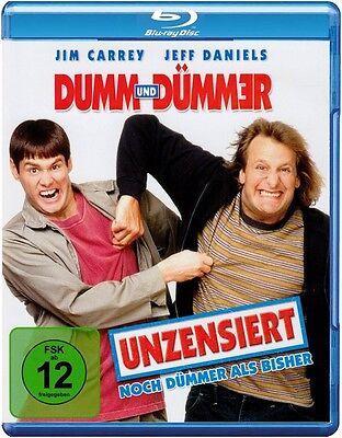 Blu-ray * Dumm und Dümmer - Unzensiert * NEU OVP * Jim Carrey, Jeff Daniels