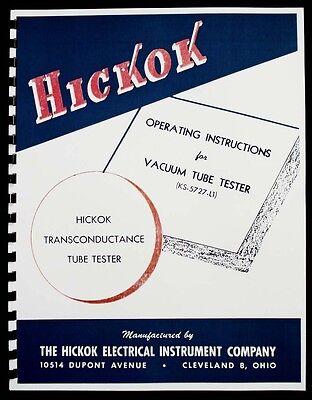 Hickok Ks-5727-l1 Tube Tester Manual