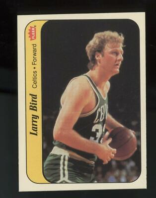 1986 Fleer Basketball Sticker #2 Larry Bird