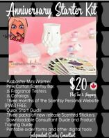 Join Scentsy for $20 plus tax and shipping