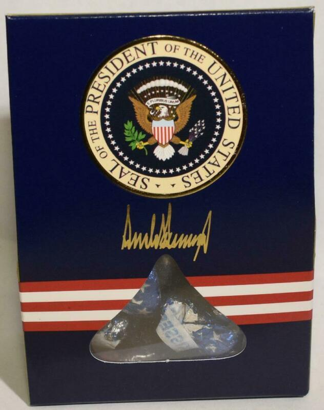 President Donald Trump White House Hershey Kisses Air Force One Chocolate Candy