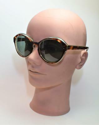 VTG Unique 1960s-1970s Women Fish Eye sunglasses tortoise frame gray glass (Fish Eye Sunglasses)