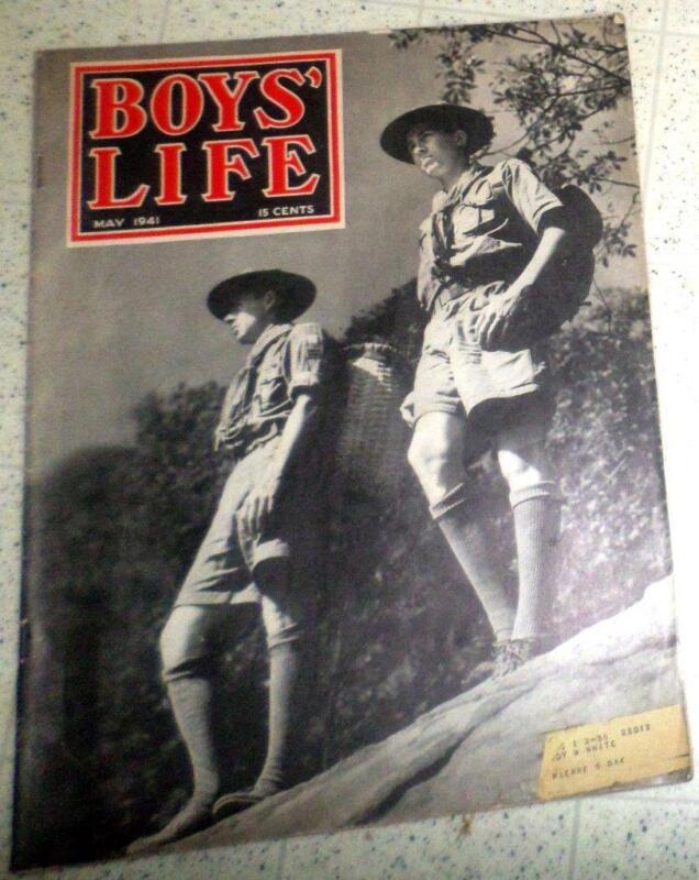 Vintage BSA May 1941 Boys