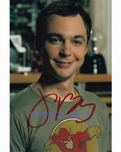 JIM PARSONS SIGNED AUTOGRAPHED 10X8 INCH PHOTO PRINT sheldon big bang theory
