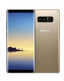 Brand New + UNLOCKED Samsung Galaxy Note 8 - N950F - Maple Gold - 64GB - Mobile phone smartphone