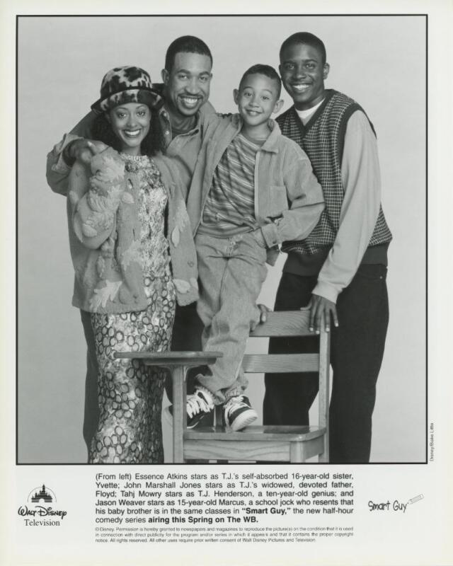 """Cast of """"Smart Guy"""" Original TV Still"""