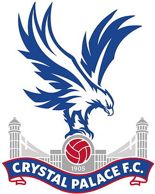Crystal Palace FC Football Club Vinyl DieCut Sticker Decal FC Soccer 4 Stickers