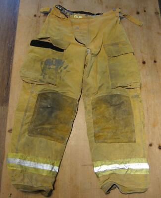 Lion Janesville Firefighter Fireman Turnout Gear Pants Size 34 - B Vv1