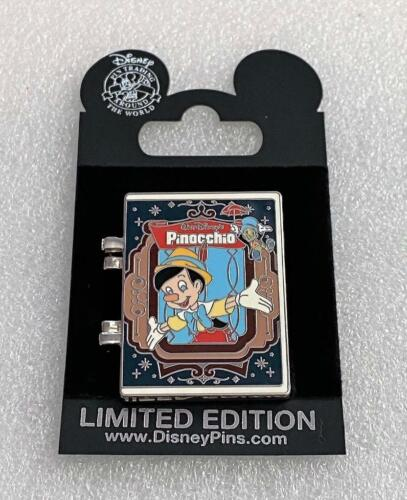 Disney Pinocchio Platinum DVD Release 2009 Hinged Spinner LE 2000 Pin