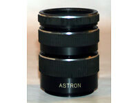 Astron close up extension tubes.