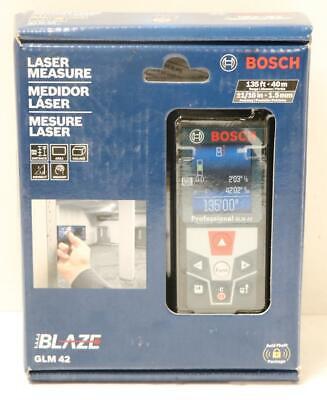 New - Bosch Glm 42 Blaze 13540m Laser Distance Measurerange Finder