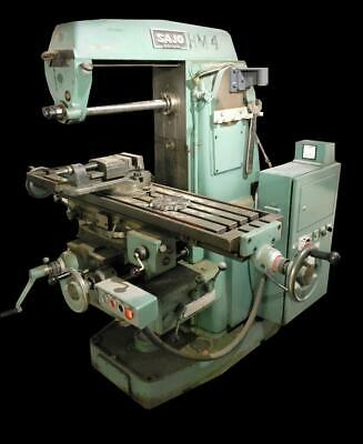 Sajo Uf 52 Horizontal Milling Machine 49 X 11 Table 230v 3 Phase
