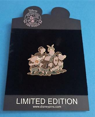 Disney Store High School Series Sleeping Beauty Maleficent's Goons LE 250 Pin - Maleficent Goons