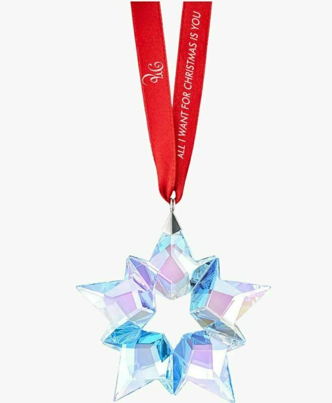 NIB $89 Swarovski 25th Anniversary Holiday Ornament by Mariah Carey #5543287