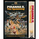 Embassy Ent Betamax NOT VHS Piranha II The Spawning 1981 Cult Horror Eco Terror