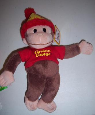 "NEW GOTTA GETTA GUND Curious George Birthday 10"", PLUSH MONKEY"