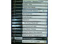 PlayStation 2 Games - Job Lot
