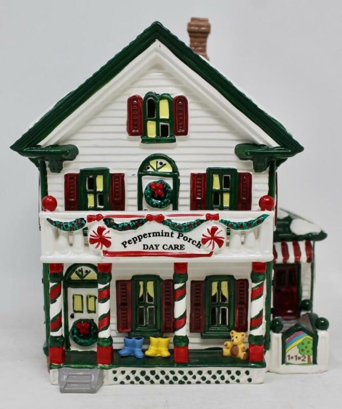 Dept 56 Snow Village Peppermint Porch Day Care #54852