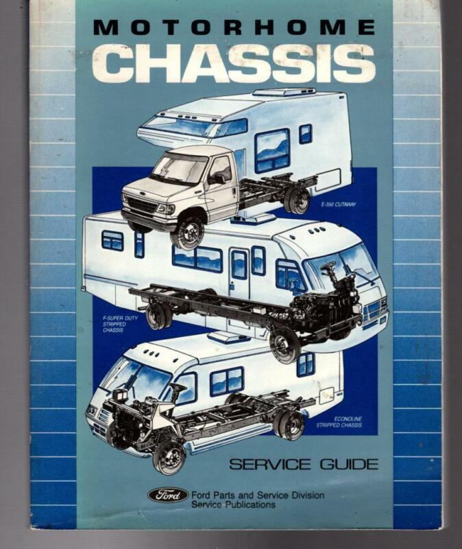 FORD MOTORHOME CHASSIS Service Guide 1992