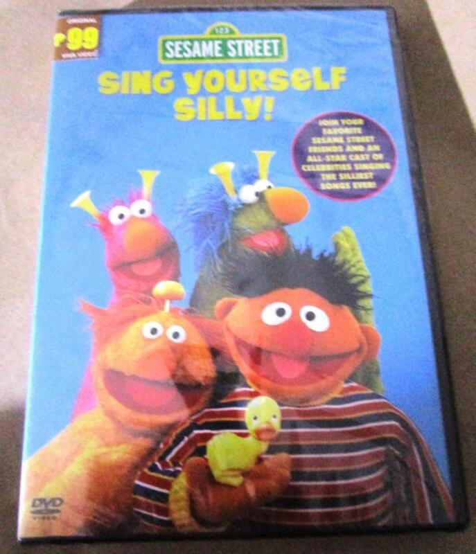 2007 SESAME STREET Sing Yourself silly ORIGINAL All Region DVD retired sealed