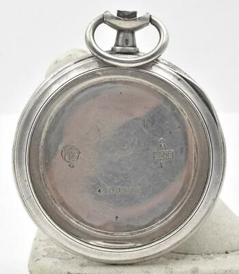 Antique OMEGA WATCH COMPANY 900 Silver Open Face Pocket Watch case