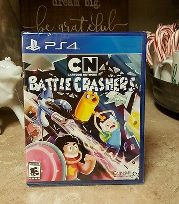 Cartoon Network Battle Crashers Game Sony Playstation 4 Ps4 Fun Adventure New