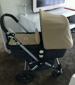 Bugaboo Cameleon in Sand with Extras