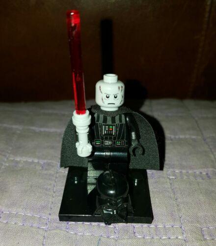 Authentic LEGO Star Wars Darth Vader Minifigure sw209 8017 10188 Death Star Sith