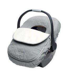 Graphite JJ Cole Car seat Cover