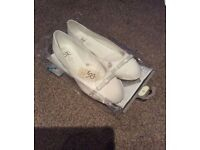 BNIP BHS JR Marylebone London Bridal Shoes