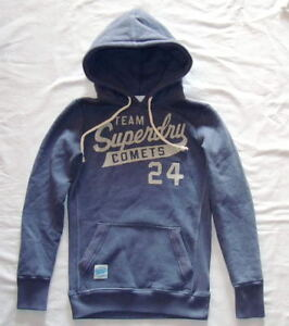 Women-s-Hoodie-SUPERDRY-Womens-New-hood-size-XS