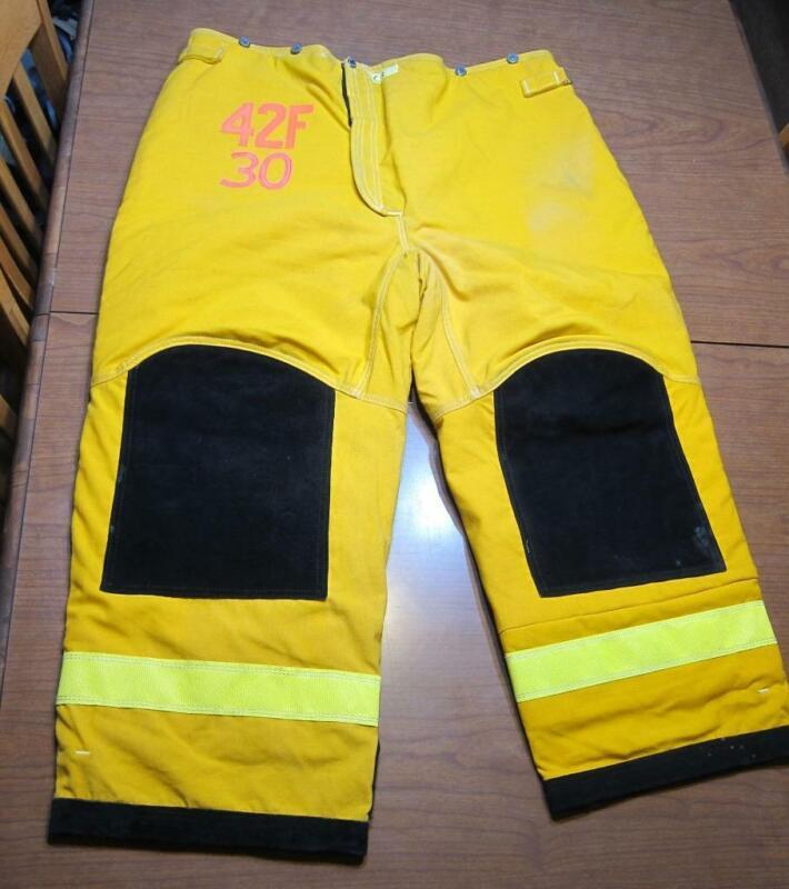Lion Janesville Firefighter Fireman Turnout Gear Pants Size 42R - [D] (C1)