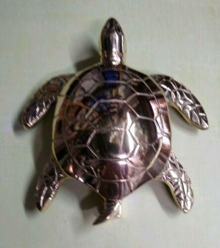 Decorative Turtle Door Hardware Beach Nautical Sea DOOR KNOCKER Polished Brass