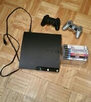 PS3 with 7 games