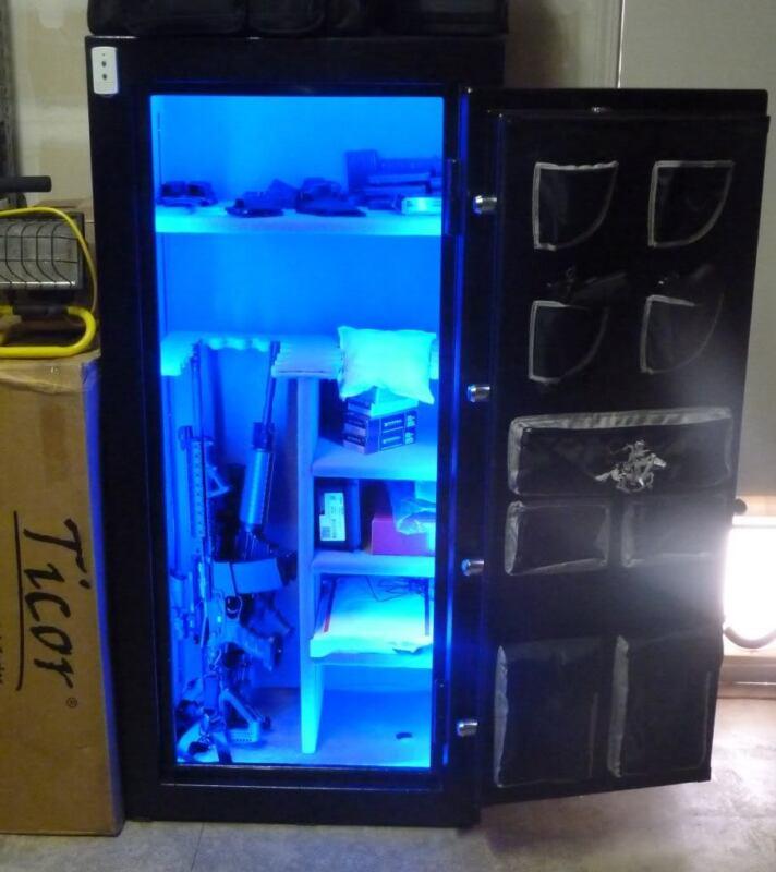Gun Safe / Cabinet LED Light Lighting KIT  #1 GIFT for SKEET Shooting NEW