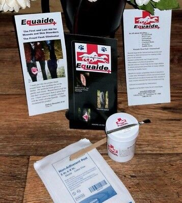 Equaide Solution  5oz jar  The Proud Flesh Eliminator Wound Care Solution