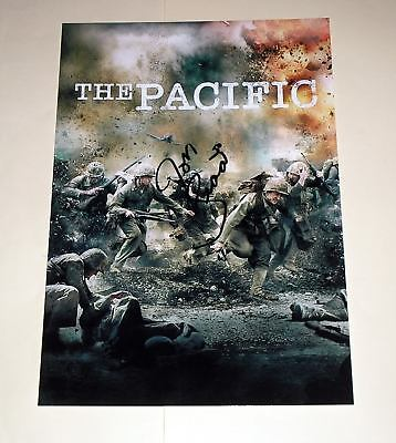 """THE PACIFIC PP SIGNED 12""""X8"""" POSTER JOE SEDA"""