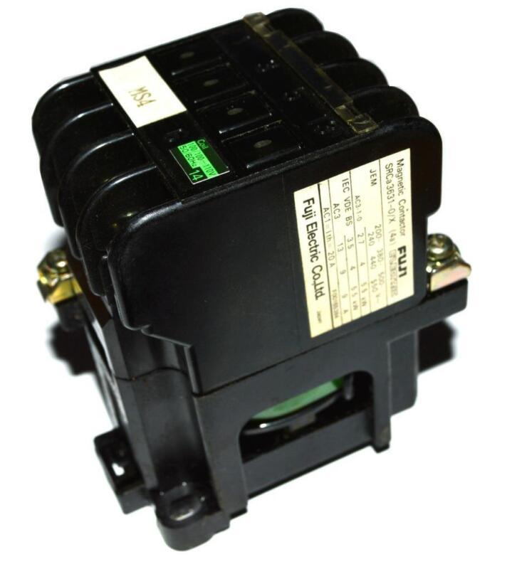 FUJI ELECTRIC MS4 MAGNETIC CONTACTOR 110 VOLTS 50/60 HZ