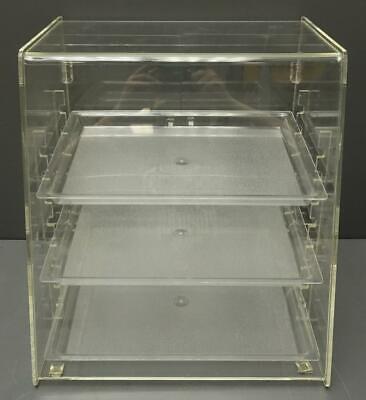 3 Tray Bakery Countertop Display Case W Rear Doors - 15.5x14.5x17