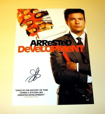 "ARRESTED DEVELOPMENT PP SIGNED PHOTO POSTER 12""X8"" A4 JASON BATEMAN"