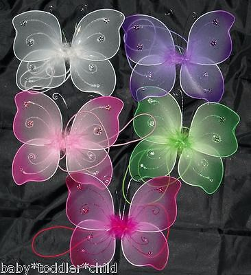 Babies Fairy WINGS Butterfly Costume Angel Dressup  (Butterfly Costume Infant)